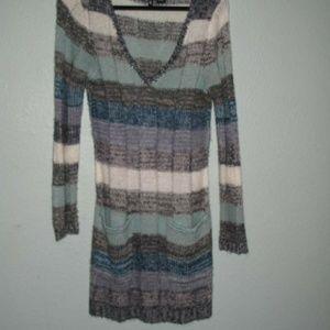 Cozy sweater dress!